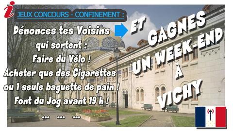Gagnez un W.E à Vichy